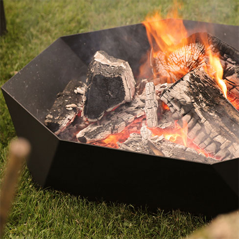 Cupola Ring Outdoor Fire Pit