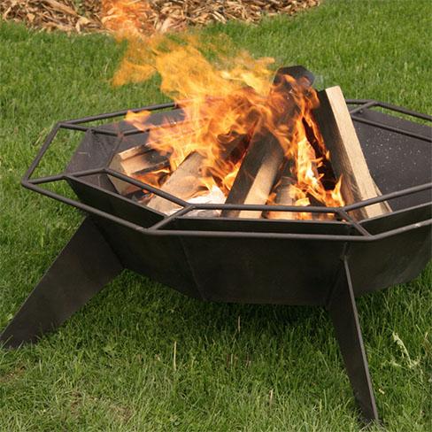 Octagonal Cottager Fire Pit