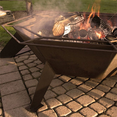 Octagonal Cottager Fire Pit