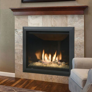 Kozy Heat Bayport Glass Fireplace