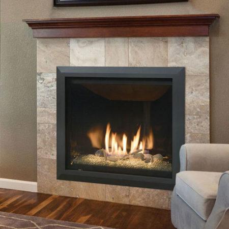 Kozy Heat Bayport Glass Fireplace