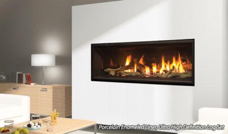 direct vent gas fireplace- enviro C44