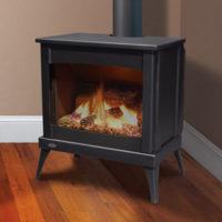 enviro westport steel gas fireplace